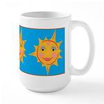 Smiling Sun Large Mug