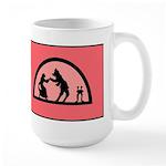 Beauty and the Beast Large Mug