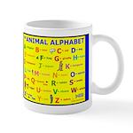 Animals Alphabet Mug