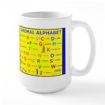 Animals Alphabet Large Mug