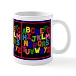 Colorful ABC Mug