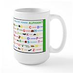 Healthy Food ABC Large Mug