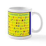 Everyday Objects ABC Mug