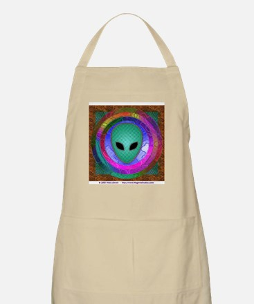 Alien Head Light Apron