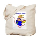 The Country Mouse Tote Bag