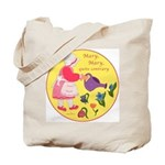 Mary, Mary, Quite Contrary Tote Bag
