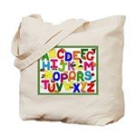 Healthy Foods ABC Tote Bag