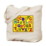 Everyday Objects ABC Tote Bag