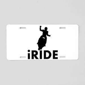 iRide Motocross Aluminum License Plate