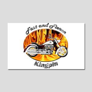 Victory Kingpin Car Magnet 20 x 12