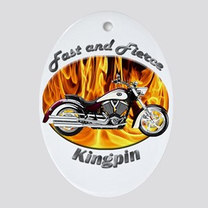 Victory Kingpin Ornament (Oval)