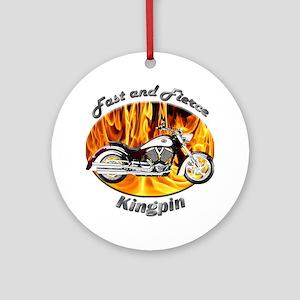 Victory Kingpin Ornament (Round)