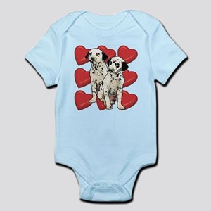 Dalmatian Puppy Love Infant Bodysuit