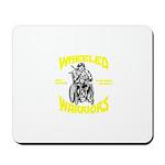 Wheeled Warriors Mousepad
