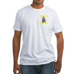 Wheeled Warriors Fitted T-Shirt