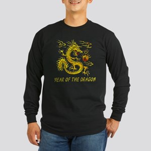 Year Of The Dragon Long Sleeve Dark T-Shirt