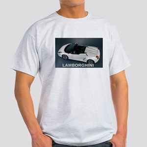 White Lamborghini T-Shirt