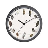 Owl Wall Clocks