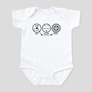 Eat Sleep Edit Infant Bodysuit