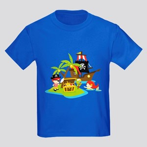 Pirate Adventure Kids Dark T-Shirt
