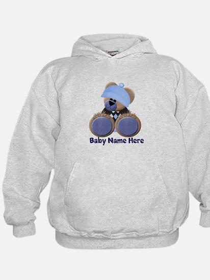 Customizable Boy Bear Hoodie