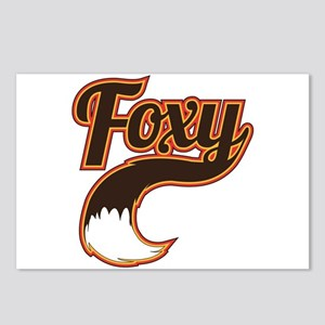 Foxy Postcards (Package of 8)