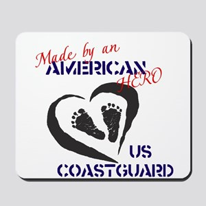 Made by American Hero - Coast Guard Mousepad