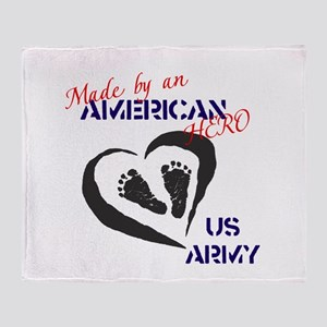 Made by American Hero - Army Throw Blanket
