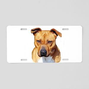 Pitbull Aluminum License Plate