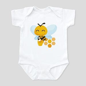Happy Honey Bee Infant Bodysuit