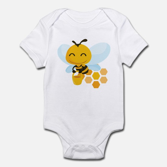 Happy Honey Bee Infant Bodysuit