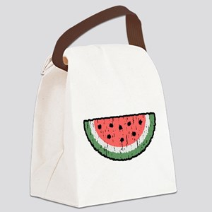 watermelon Canvas Lunch Bag