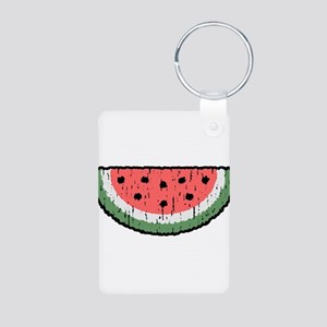 watermelon Aluminum Photo Keychain