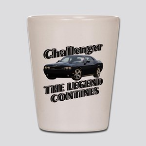 Challenger Shot Glass
