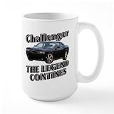 Challenger Large Mugs (15 oz)