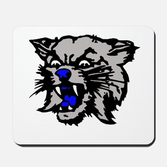 Cat Head Mousepad