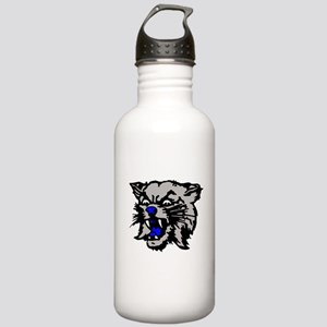 Cat Head Stainless Water Bottle 1.0L