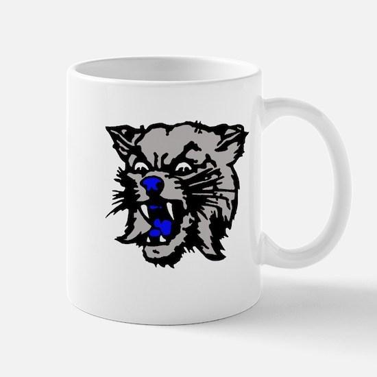 Cat Head Mug