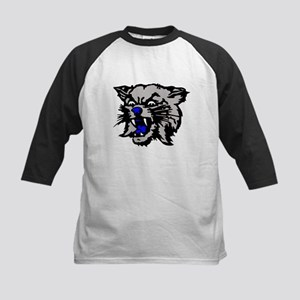 Cat Head Kids Baseball Jersey