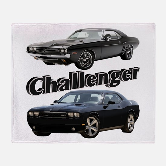Challenger Throw Blanket