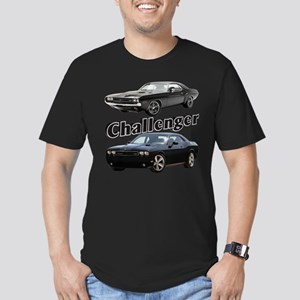 Challenger Men's Fitted T-Shirt (dark)
