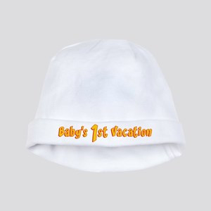 Baby's First Vacation baby hat
