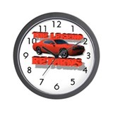Dodge challenger Wall Clocks