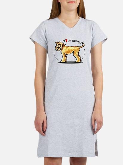 Wheaten Terrier Lover Women's Nightshirt