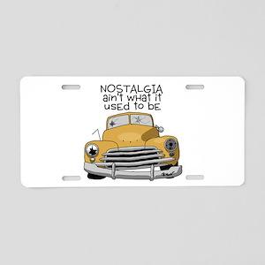 Nostalgia Aluminum License Plate