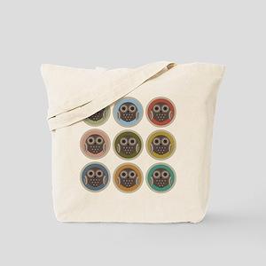 Owl Dots Tote Bag