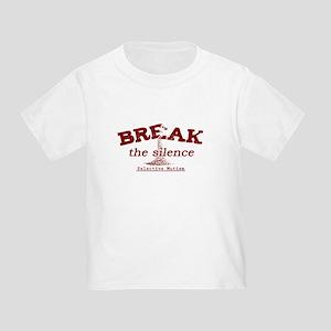 Break the Silence Selective Mutism Toddler T-Shirt
