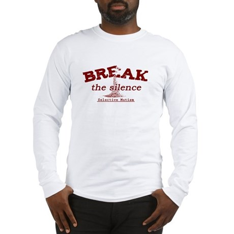 Break the Silence Selective Mutism Long Sleeve T-S