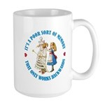 A Poor Sort of Memory Large Mug