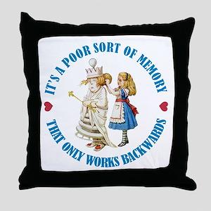 A Poor Sort of Memory Throw Pillow